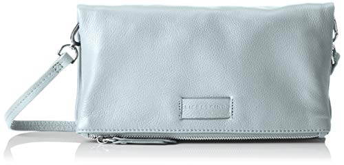 Liebeskind Berlin Damen Essential Aloe Crossbody Small Umhängetasche, Blau (Light Blue Mist), 3x16x29 cm -