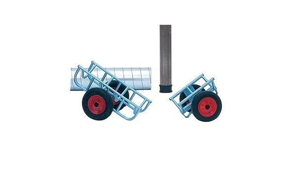 Möbelroller 600x400 mm Vollgummirollen Ø 125 mm