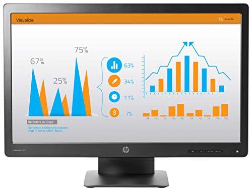 HP ProDisplay P232 58,4 cm (23 Zoll) Monitor (VGA Displayport, 5ms Reaktionszeit) schwarz