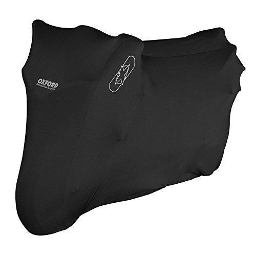 Oxford Protex premium stretch fit indoor motorcycle cover – black – medium