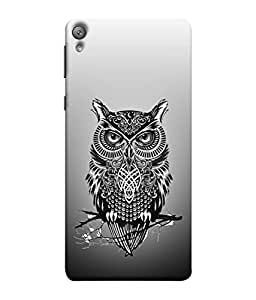 Sony Xperia E5 Back Cover Decorative Owl Bird Design From FUSON