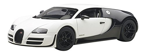 AUTOart- Miniature Voiture de Collection, 70933, Blanc/Carbone