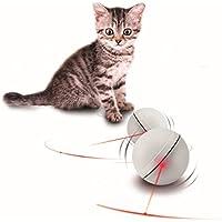 GFEU - Pelota interactiva para gatos y perros, juguete para ejercicio interactivo