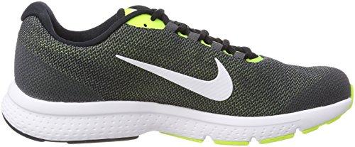 Nike NIKE runallday–Chaussures de running, homme, Homme, NIKE RUNALLDAY, Multicolore Noir (Noir/Blanc/Gris Loup)
