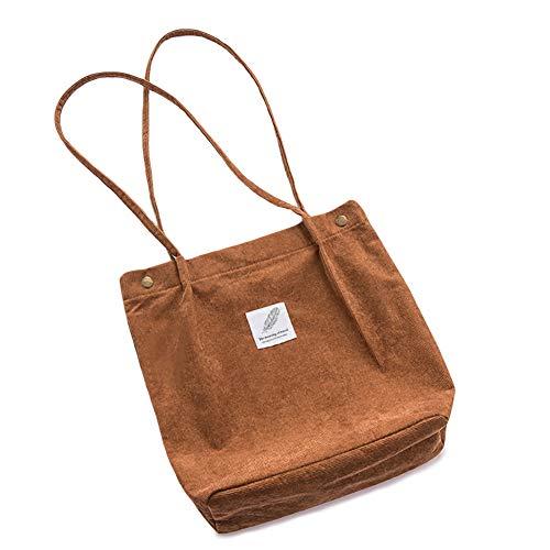 d37782c7decaa Luxanne Canvas Tasche Damen Mädchen HandtascheUmhängetasche Groß Fashion  Schultertasche Hobo Bags S