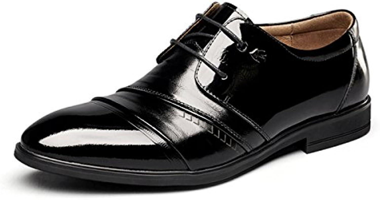 MUYII Oxfords Da Uomo In Pelle Scarpe Casual Casual Casual Moderno Classico Lace Up Mens Scarpe Comode Scarpe Da Lavoro Formale... | Vendita Calda  3e7e9e