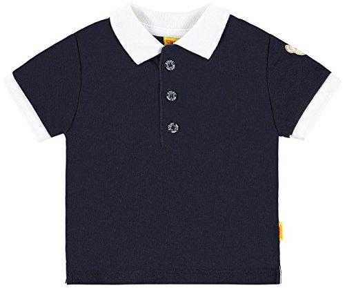Steiff Collection Jungen, Poloshirt, Poloshirt 1/4 Arm, Blau (marine 3032), 68