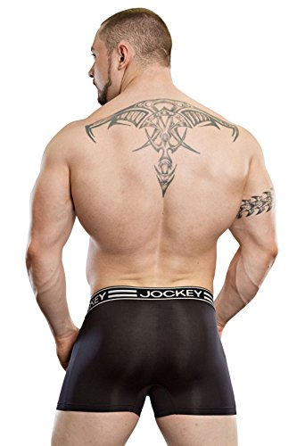 Jockey Herren Retroshort, Einfarbig * Black/Check
