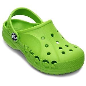 Crocs Baya Girls Clog in Green