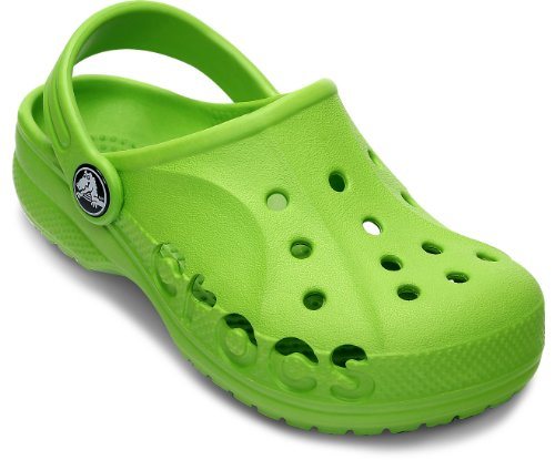 Crocs Baya Girls Clog in Green