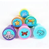 Generic - 6 piezas de mar cartoon animal patrones sello
