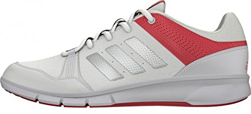 adidas Niraya, Chaussures de Running Entrainement Femme Blanc / Rose (Ftwbla / Plamat / Rubsup)