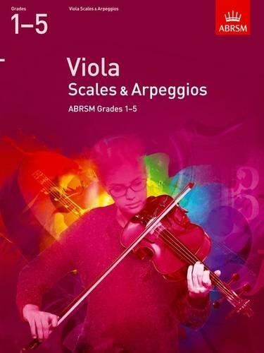 Viola Scales & Arpeggios, ABRSM Grades 1-5 Cover Image