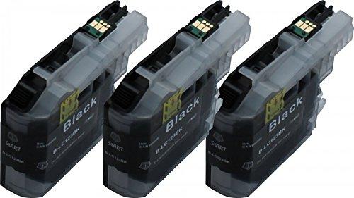 Preisvergleich Produktbild Start - 3 XL Ersatz Chip Patronen kompatibel zu Brother LC-123BK XL Schwarz für Brother DCP-J132W, DCP-J152, DCP-J4110, DCP-J552DW, DCP-J752DW, MFC-J245, MFC-J4310DW, MFC-J4410DW, MFC-J4510DW, MFC-J4610DW, MFC-J470DW, MFC-J4710DW, MFC-J475DW, MFC-J650DW, MFC-J6520DW, MFC-J6720DW, MFC-J6920DW, MFC-J870DW