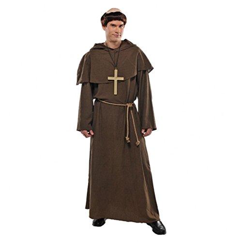 lalterlich Mönch Mönch Religiös Kostüm Erwachsene Komplette Kostüm ()