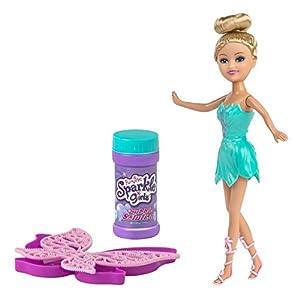 ColorBaby -  Muñeca hada Sparkle Girlz con lanza burbujas (44511)