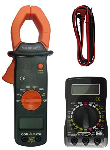 Coamer MT-30 - Kit multímetro digital y pinza amperimétrica