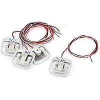 Cargar DealMux 4 piezas en 50kg Escala Cuerpo Electrónico célula de pesaje Sensor