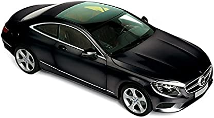 Norev 2014 Mercedes-Benz S Class Coupe, Black - 183482 1/18 Scale Diecast Model Toy Car