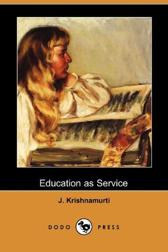Education As Service (Dodo Press)