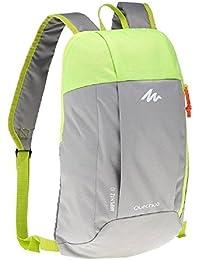 Quechua 8358165 Arpenaz Hiking Bag, 10L (Grey/Green)