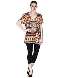 Mujer Top en distintos modelos también Plus Size, camiseta de cuello en V material ligero, Casual/Ocio/Noche–También en Nueva York