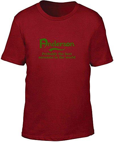 Poole probabilmente il migliore cognome nel mondo bambini T Shirt Red