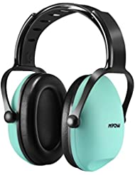 Ear Defenders, Mpow Kids Noise Reduction Earmuffs, Baby Ear Defenders Adjustable Headband Hearing Protection -- Tiffany Blue