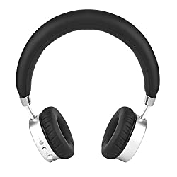 Ambrane Ultra Comfortable Wireless Bluetooth Headphones WH-6000 With Mic (Black)