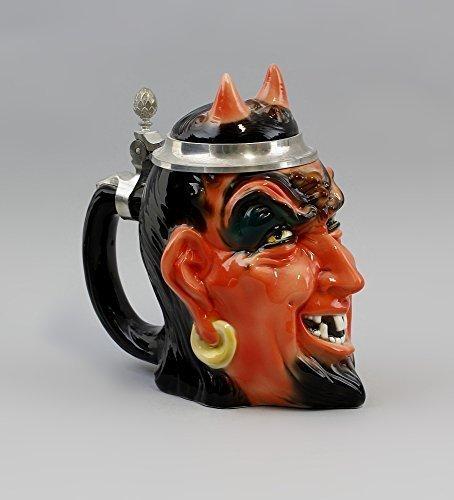 De porcelana de la-jarra de cerveza de Diablo