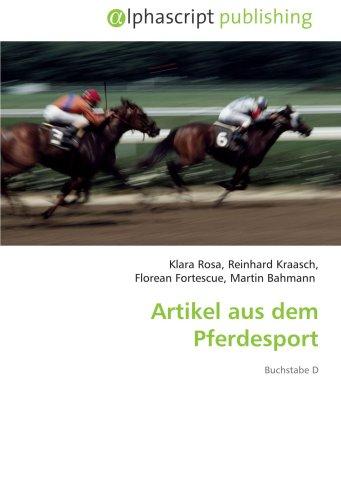 Artikel aus dem Pferdesport: Buchstabe D