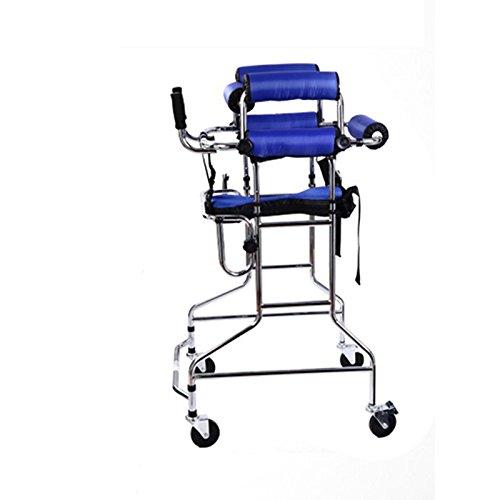 III- Standing Walk Stand/Walker/Gehhilfe/Stand Frame mit Sitz Rad Rehabilitation Gerät Falten Höhe verstellbar Old Man Walker
