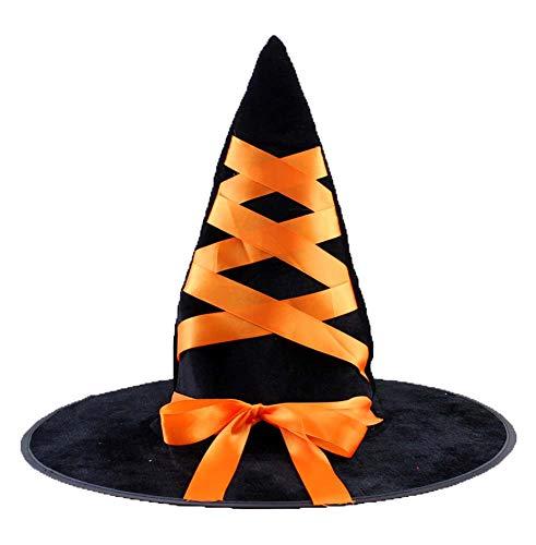 Accessoire de costume de chapeau de sorcière de Halloween pour la fête de Noël de Halloween, L2