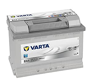 varta silver dynamic e44 batterie voitures 12 v 77ah 780 amps en. Black Bedroom Furniture Sets. Home Design Ideas