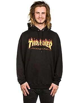 thrasher Flame Hoody