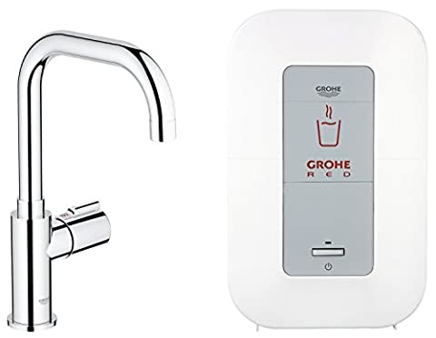 Grohe Red Mono 30147000 Sink Tap and Water Boiler 4 L Chrome