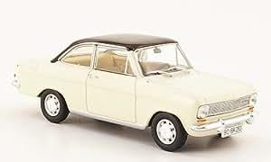 Opel Kadett A Coupe, beige/noire , 1963, Model Car, Miniature déjà montée, Starline 1:43
