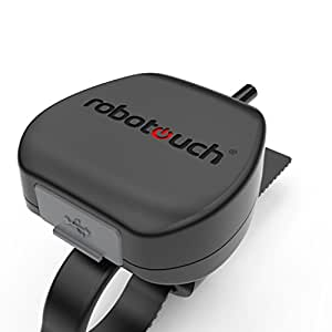 RoboTouch RideOn Mobile Charger for Two Wheelers (Black)