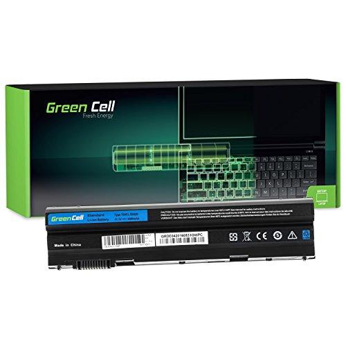 Green Cell Standard Serie 8858X M5Y0X T54FJ Laptop Akku für Dell Latitude E5420 E5430 E5520 E5530 E6420 E6430 E6440 E6520 E6530 E6540 (6 Zellen 4400mAh 11.1V Schwarz)