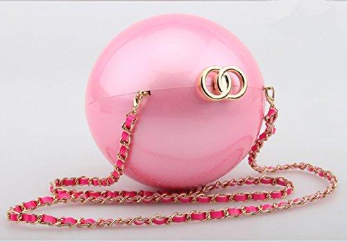 TOMATO-smile, Borsa a tracolla donna double O-Pink