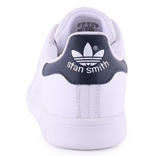 Adidas Originals Stan Smith baskets basses mixte adulte Blanc Cassé (Running White/running White/new Navy)