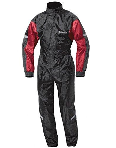 Held Splash Regenkombi, Farbe schwarz-rot, Größe 3XL