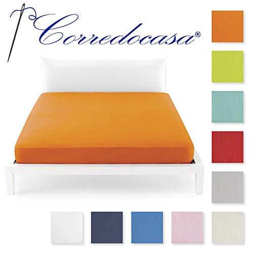 Corredocasa - Lenzuolo matrimoniale Per Sotto con angoli 2 Piazze