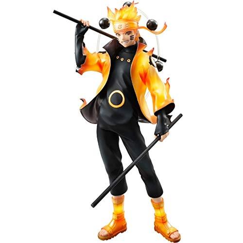 Nuevo 22 cm Naruto Uzumaki Naruto Figuras de acción Anime PVC brinque