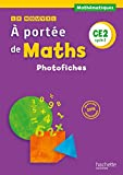 Le Nouvel A portée de maths CE2 : Photofiches (1Cédérom)