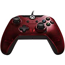 PDP Wired Controller for Xbox One, Xbox One X and Xbox One S, Crimson Red