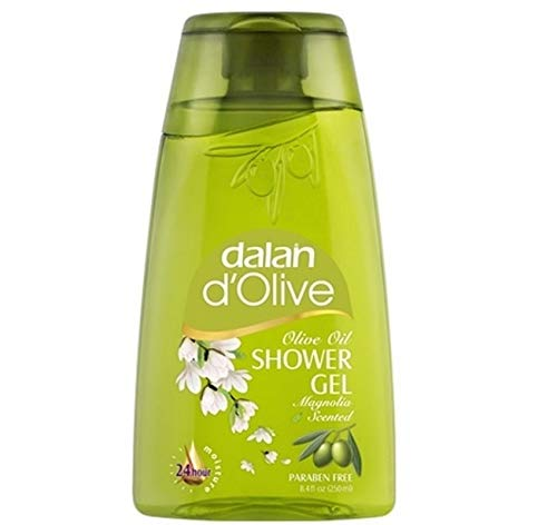 6 x Dalan d'Olive Duschgel Olivenöl mit Magnolie - 250 ml