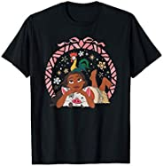 Disney Princess Moana Hei Hei and Pua Holiday T-Shirt