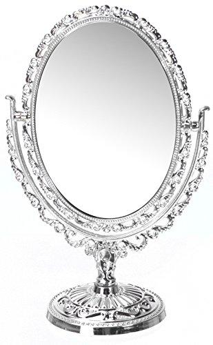 EMAKO Miroir cosmétique Style Baroque, Ovale