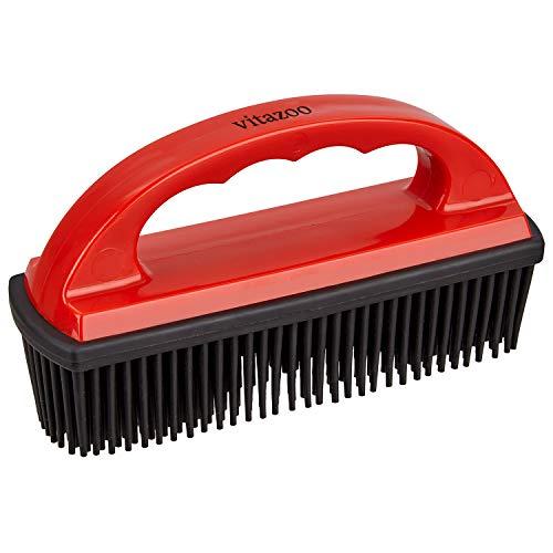 vitazoo Enthaarungsbürste zur Entfernung von Haaren für Textile Oberflächen und Fahrzeugpolster -